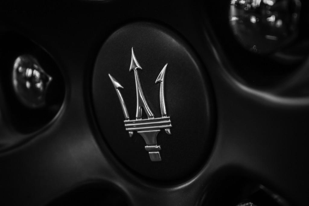 Maserati - Matte Black Rim
